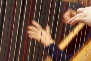 Cours de harpe à Sautron