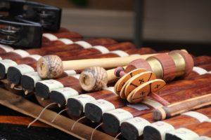 activité musicale de percussions