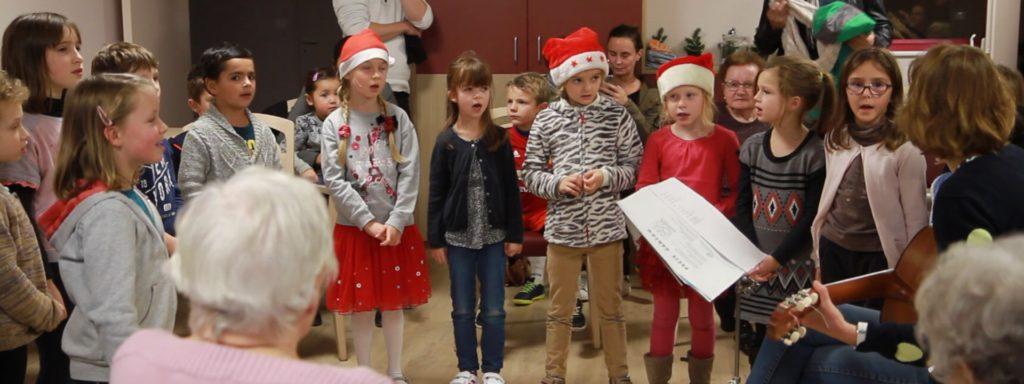 Chorale enfants aux Glycines à Sautron