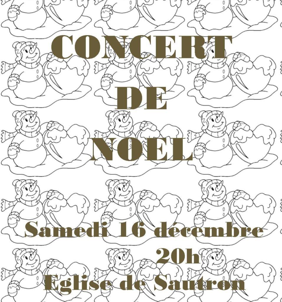 Concert de Noël 2017 à l'église Sautron : orchestres et chorales