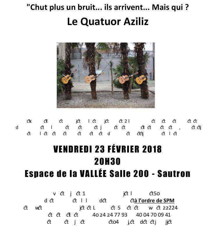 concert Le Quatuor Aziliz