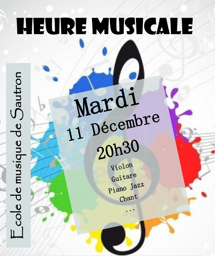 Affiche de l'audition du 07/12/2018