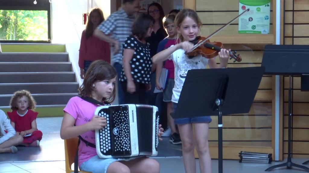 accordéon et violon