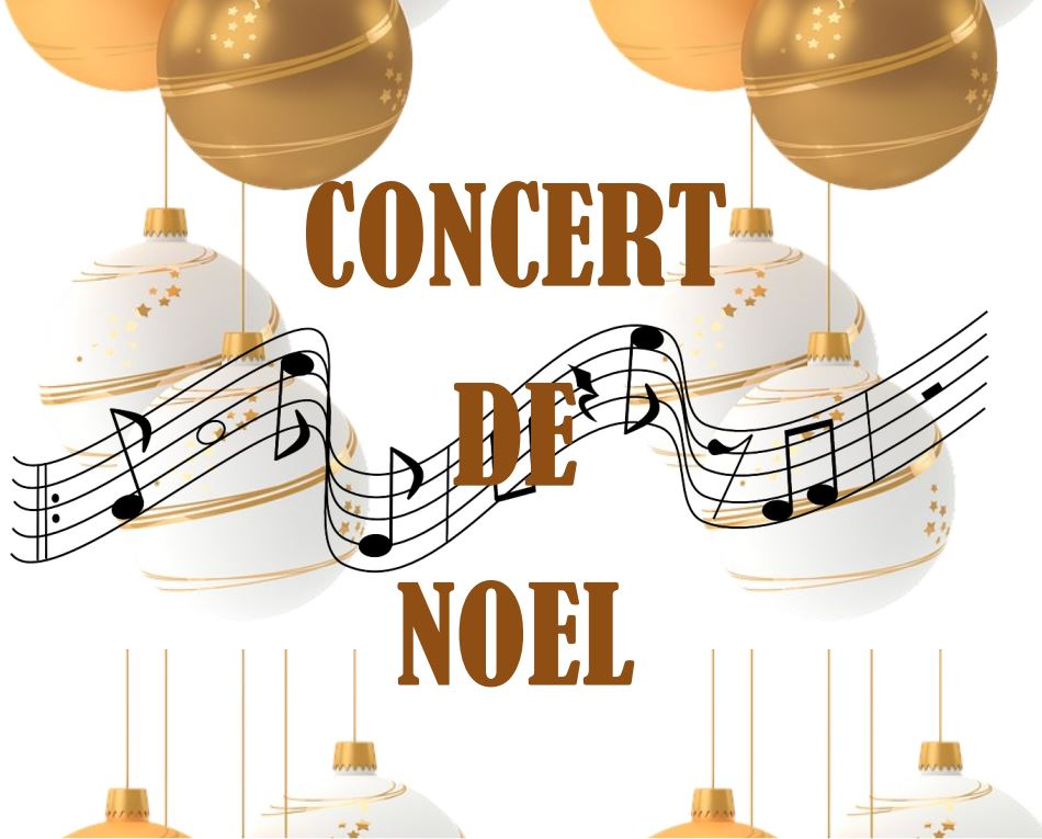 Affiche du concert de Noël du 14/12/2019